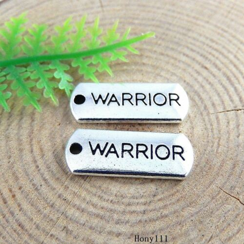 """80x Vintage Silver Alloy /""""WARRIOR/"""" Boards Pendants Charms Findings Crafts 51411"""