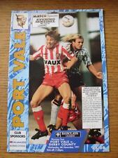 06/11/1991 PORT VALE V Derby County (senza apparente guasti)
