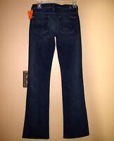 $165 Seven 7 For All Mankind Original Bootcut Gummy Jeans Medium Vint Sample 24