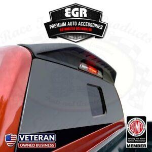 985089 EGR 16 17 Toyota Tacoma Matte Black Truck Cab Spoiler