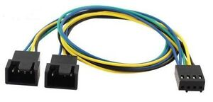 4-Pin-PWM-to-2-x-4-Pin-PWM-Power-Y-Splitter-Adapter-Cable-for-PC-CPU-Fan-33cm