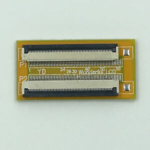 1.0mm pitch 7 Pin extension connector dapter for FFC FPC cable extend ZIP HDD