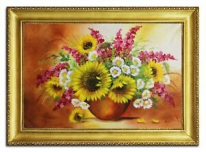Oil-Painting-Pictures-Hand-Painted-with-Frame-Baroque-Art-G96483