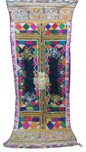Antique-Indian-Traditional-Kutch-Rabari-Banjara-Gypsy-Trible-Embroidery-Shawl