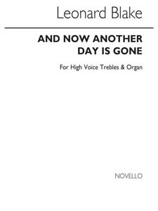 Details about Leonard Blake: And Now Another Day Is Gone High Voice Vocals  SHEET MUSIC BOOK