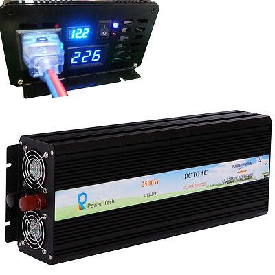 DC to AC Power Inverter 12V 220V Pure Sine Wave Inverter 1000W 1500 2000W 2500W