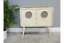 Neo-Vintage-Industrial-Metal-Cabinet-Unit-Storage-Sideboard-In-Cream-H71cm-x-W71 thumbnail 1
