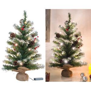 britesta deko weihnachtsbaum mit 30 leds pinienzapfen und. Black Bedroom Furniture Sets. Home Design Ideas