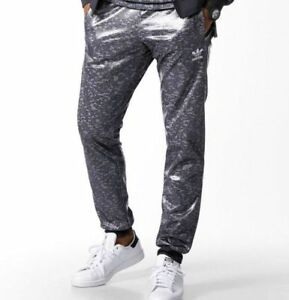 ADIDAS ORIGINALS SUPERSTAR SLIM FIT SHINY WETLOOK TRACKPANTS -BNWT S ... 989200dfd3f9