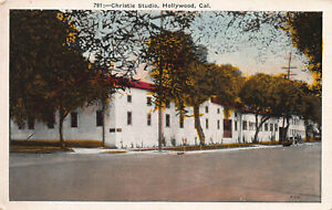 Christie-Studio-Hollywood-California-Early-Postcard-Unused