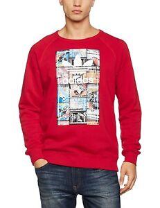 Originals Adidas Logo met Sweater Top Rood Heren Trui Pullover vqdgpxUW