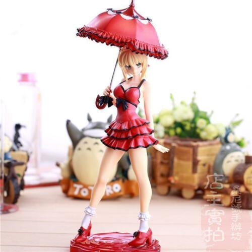 NEW Fate Stay Night Fate//Extra CC Saber One Piece Ver PVC Figure Anime Toy UK