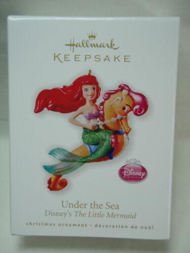 2010 Hallmark Keepsake Ornament Under The Sea Disney/'s Little Mermaid