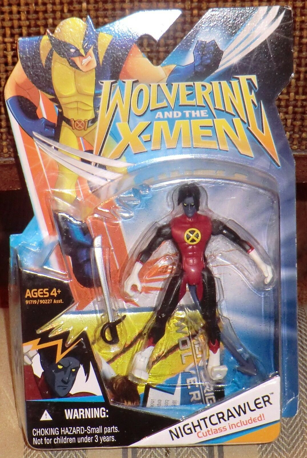 Nightcrawler de  Wolverine & The X-men Marvel Moc