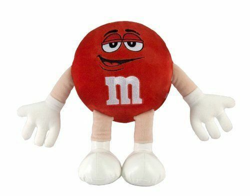 M&M Character Medium Plush Soft Stuffed Doll Toy ROT 15