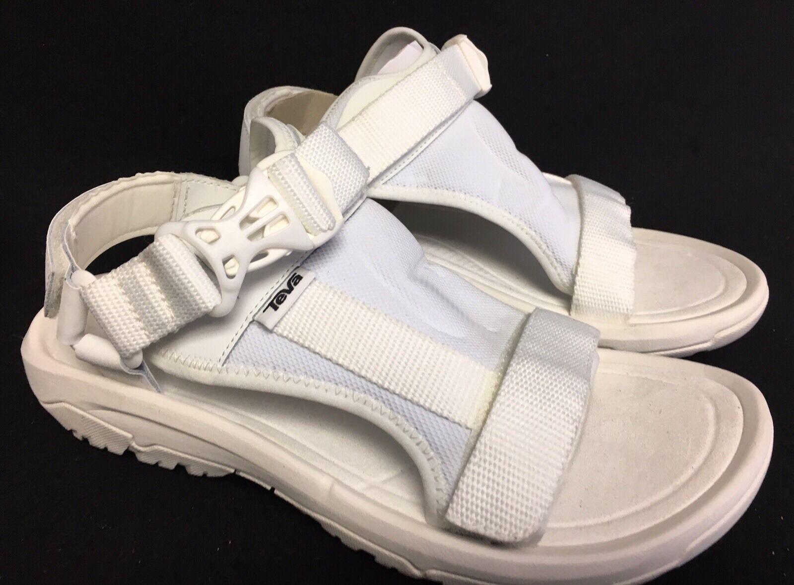 Teva Huracán voltios blancoo blancoo blancoo Sport Water Sandalias De Tiras Para Hombres Talla 9 1015224  auténtico