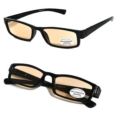 Pro Computer Anti Reflective Tinted Lens UV Protection Reading Glasses RE30