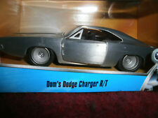 FAST AND FURIOUS DOM'S DODGE CHARGER R/T FURIOUS 7 BARE METAL  1:32