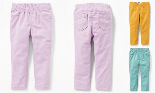 NWT Old Navy Skinny Pull-On Jeggings Soft Twill Pants Toddler Girls 3T 4T 5T