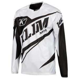 KLIM XC Lite Jersey YXL Black White