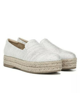 Naturalizer-Women-s-Whitley-Platform-Espadrilles-Fabric-Closed-Silver-Size-6