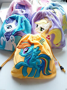 NTW-My-Little-Pony-Plush-Pouch-Drawstring-Tie-String-Bag-Mul-function-Camera-Bag