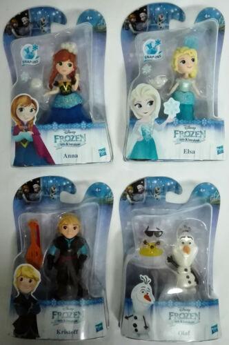 Frozen Elsa Olaf Anna Kristoff Personaggi Disney little Kingdom Hasbro H 7,5 cm