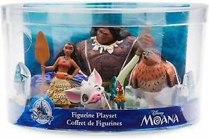 Disney-Moana-Figurine-Figures-Figure-Set-of-5-Toy-Playset-Moana-Maui-Pua-Hei-Hei