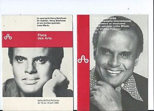 HARRY-BELAFONTE-at-MONTREAL-PLACE-DES-ARTS-3-MINI-SHOW-PROGRAMS-1980-1982-1985