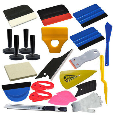 Tool Bag,3M Felt Squeegee,Tint Installing Auto Vinyl Car Wrapping Tools Kit