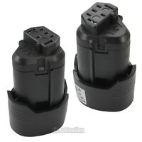 2 X 12v 2.0-ah Hyper Lithium-ion Power Tool Battery For 12 Volt Ridgid Ac82049