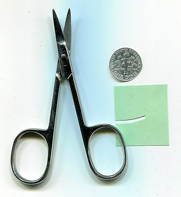 Fine Point CURVED Scissors Paper Crafts-Embroidery-Scrapbook