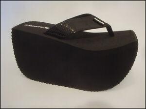 Platform Flip Flop thong sandal Bostek Shoes style 103 4.5 inch/11.5cm