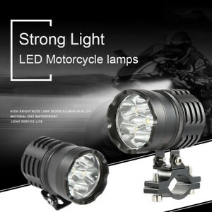 3500LM-Motociclo-Moto-Fendinebbia-Luce-Lampada-Frontale-Faretti-Faro-36W-LED