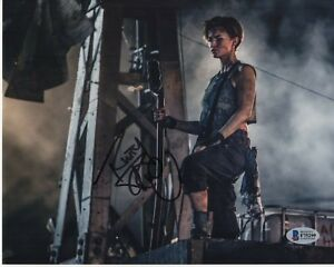RUBY-ROSE-SIGNED-RESIDENT-EVIL-PHOTO-8X10-AUTOGRAPH-FINAL-CHAPTER-SEXY-BAS-COA