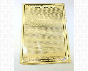 Virnex-HO-Decals-Silver-3-32-Inch-Bold-Gothic-Letter-Alphabet-Set-2010