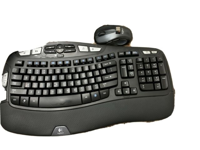 Logitech MK550 Wireless Wave Combo (K350 Keyboard & M510 Mouse)