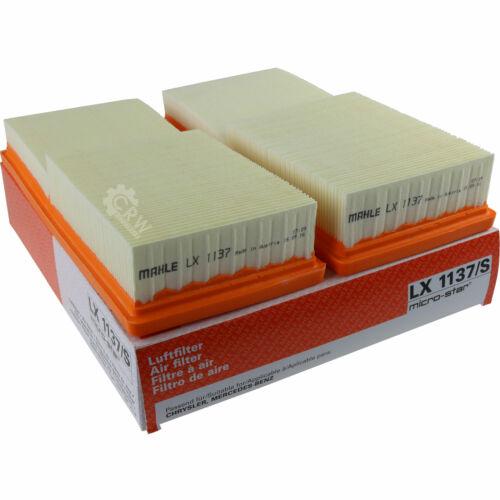 KNECHT Innenraumfilter LA 37 Luftfilter LX 1137//S Ölfilter OX 153//7D MAHLE