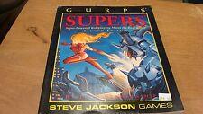 Steve Jackson, GURPS, Supers, 2nd Edition, 1991, Nice Book