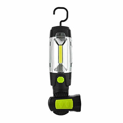 Luceco Lampe torche inclinable rechargeable USB avec banque