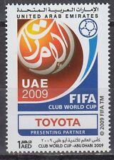 UAE 2009 ** Mi.988 Fußball-Vereinsweltmeisterschaft | FIFA Club World Cup