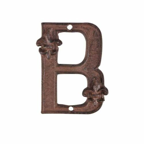 Hausnummer Erweiterung Buchstabe A B C Gusseisen Antik Look Landhausstil