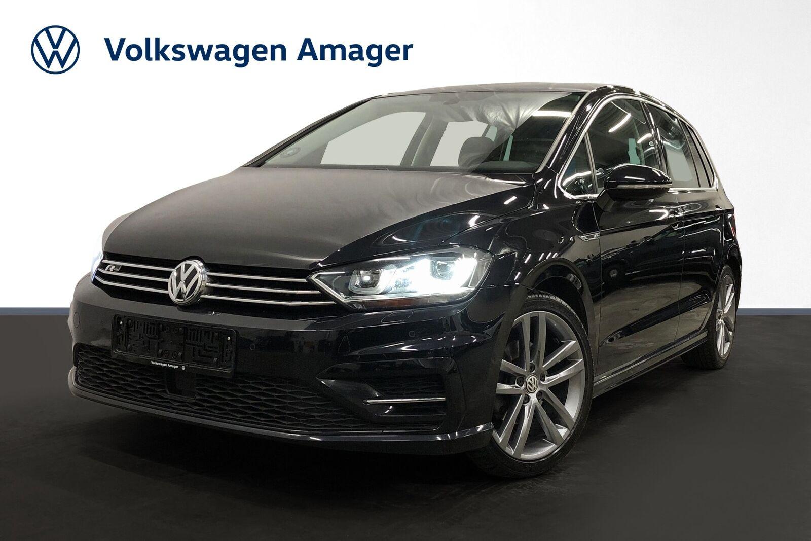 VW Golf Sportsvan 2,0 TDi 150 R-line DSG BMT 5d - 249.900 kr.