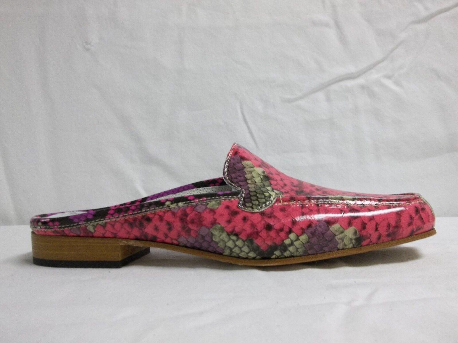 Sesto Meucci Größe Größe Größe 8.5 M Moyna Magenta Leder Slides New Damenschuhe Schuhes NWOB 963889