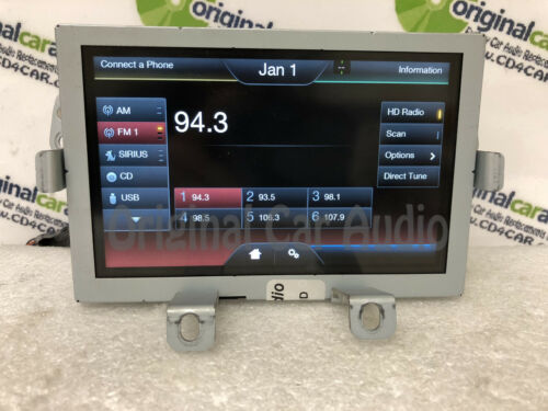 """2013-2016 Ford Fiesta OEM SYNC 2 6.5/"""" Touch Screen Information Radio Display"""