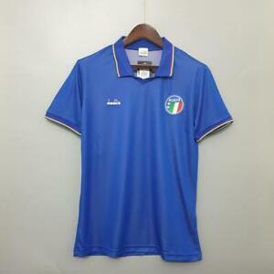 ITALIA ITALIA 90 calcio in maglia Jersey Stile Retrò Vintage Classic 1990 UK NUOVO