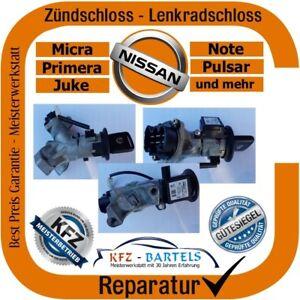 nissan micra k12 /13 bis 2008 zündschloss lenkradschloss - reparatur