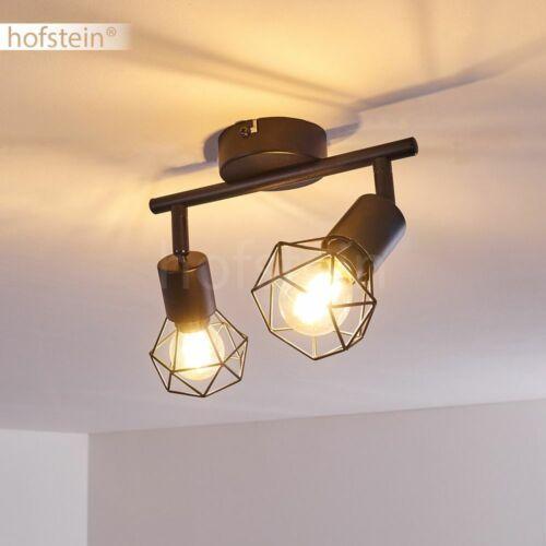 Decken Lampen schwarz Flur Strahler Wohn Schlaf Zimmer Beleuchtung verstellbar