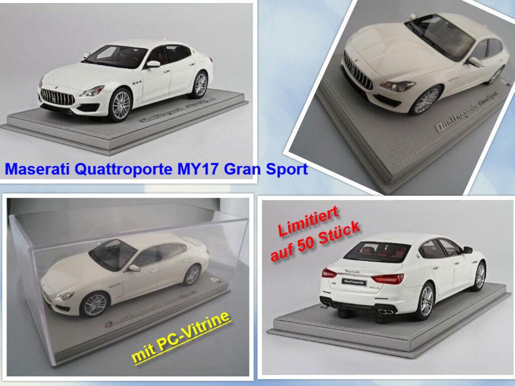 Maserati Quattroporte my17 Gran Sport limitée à 50 pièces    BBR 1 18