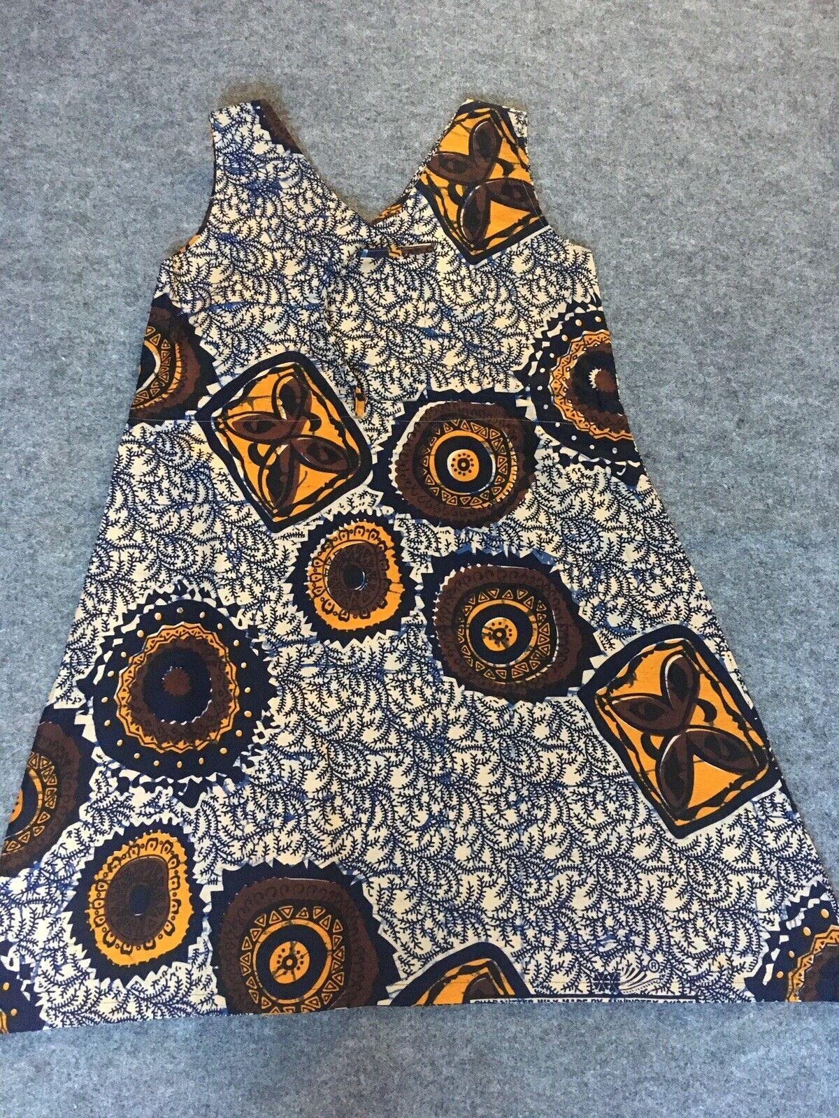 Ladies Cotton Print African Dress, Ankara, Kitenge Casual Summer Wear